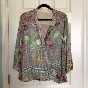 Anthropologie Blouse Size XL 🌷Beautiful 🌷
